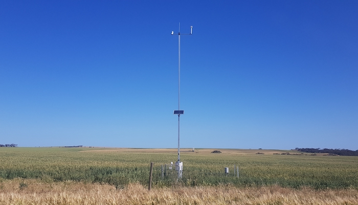 Weather Station at Walker Flat, SA